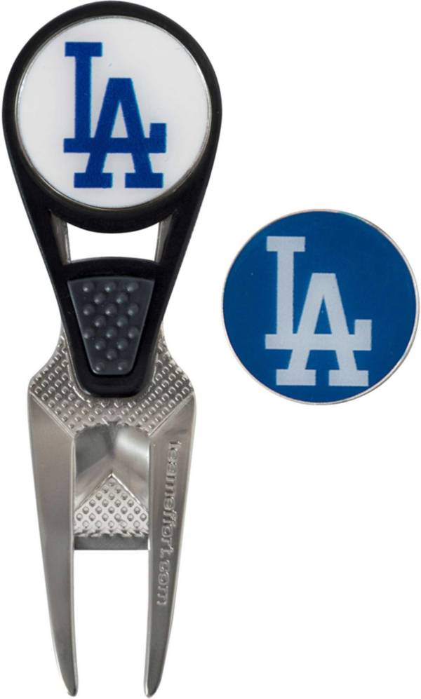 Team Effort Los Angeles Dodgers CVX Divot Tool and Ball Marker Set product image