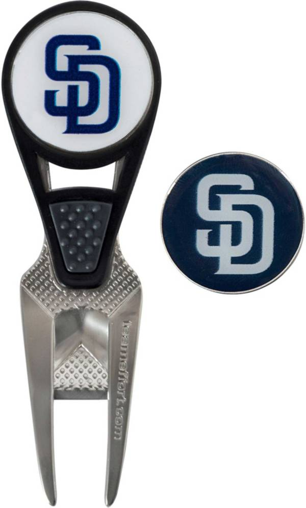 Team Effort San Diego Padres CVX Divot Tool and Ball Marker Set product image