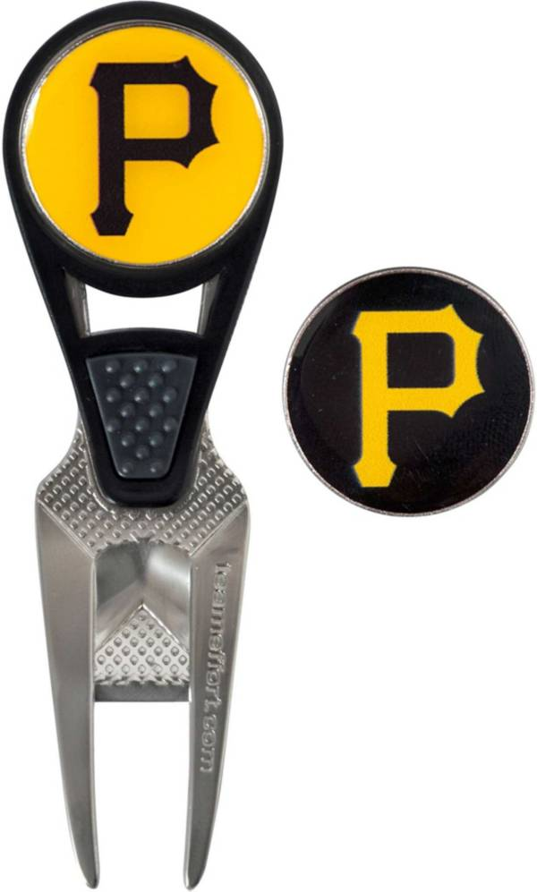 Team Effort Pittsburgh Pirates CVX Divot Tool and Ball Marker Set product image