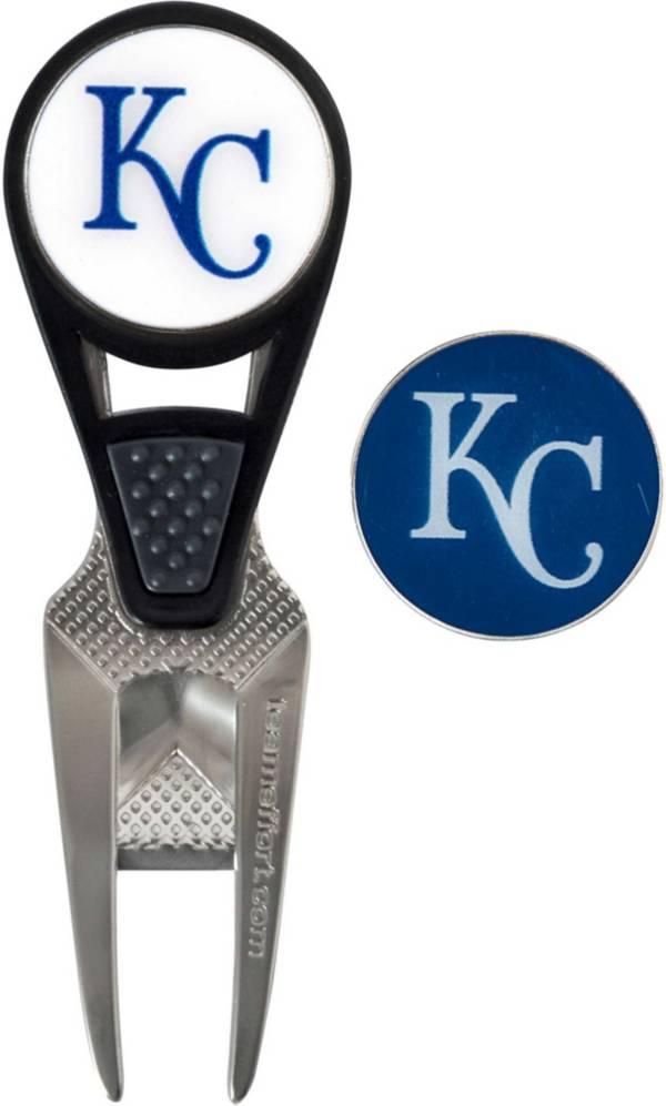 Team Effort Kansas City Royals CVX Divot Tool and Ball Marker Set product image