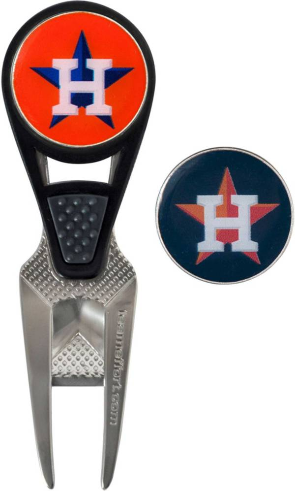 Team Effort Houston Astros CVX Divot Tool and Ball Marker Set product image