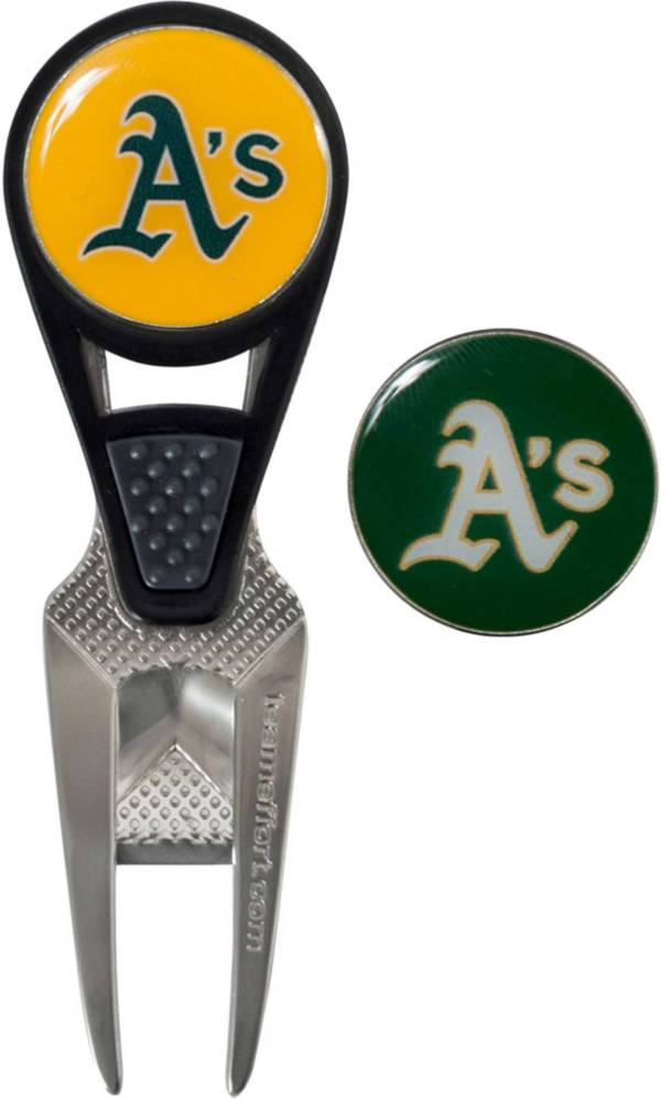 Team Effort Oakland Athletics CVX Divot Tool and Ball Marker Set product image