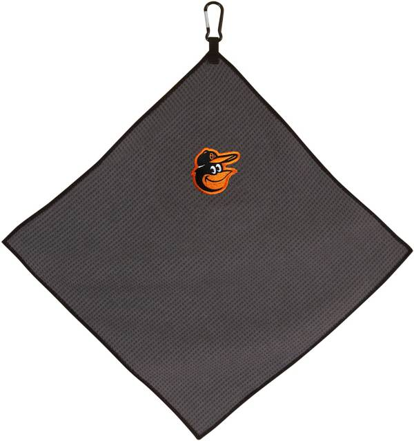 "Team Effort Baltimore Orioles 15"" x 15"" Microfiber Golf Towel product image"
