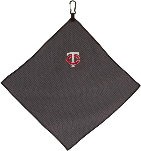 "Team Effort Minnesota Twins 15"" x 15"" Microfiber Golf Towel product image"