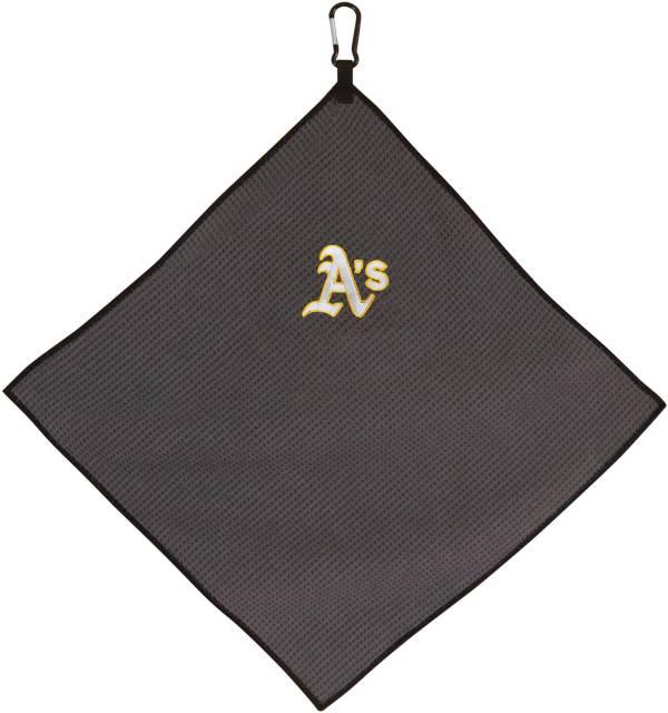 "Team Effort Oakland Athletics 15"" x 15"" Microfiber Golf Towel product image"