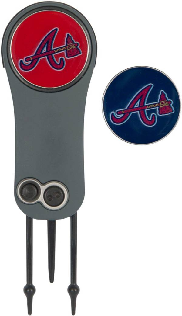 Team Effort Atlanta Braves Switchblade Divot Tool and Ball Marker Set product image