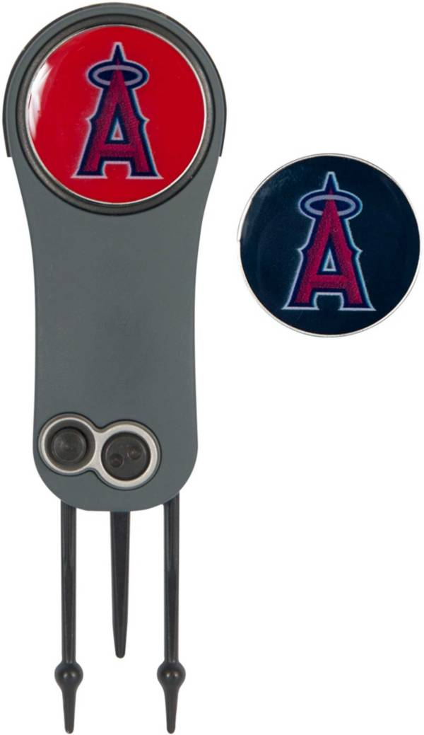 Team Effort Los Angeles Angels Switchblade Divot Tool and Ball Marker Set product image