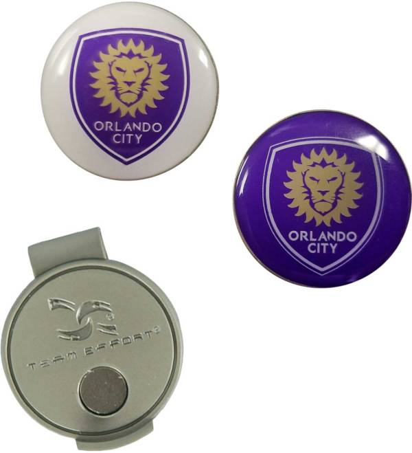 Team Effort Orlando City Hat Clip and Ball Markers Set product image