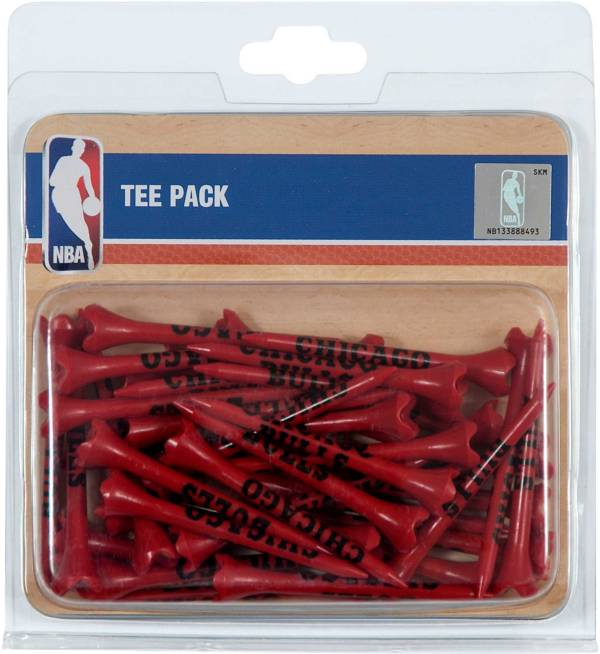 "Team Effort Chicago Bulls 2.75"" Golf Tees - 40 Pack product image"