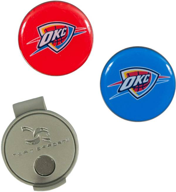Team Effort Oklahoma City Thunder Hat Clip and Ball Markers Set product image