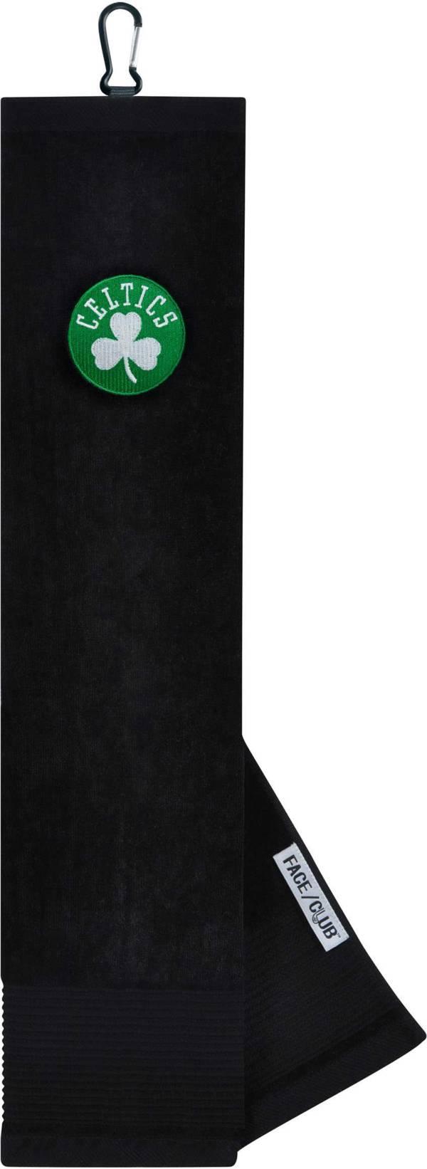 Team Effort Boston Celtics Embroidered Face/Club Tri-Fold Towel product image