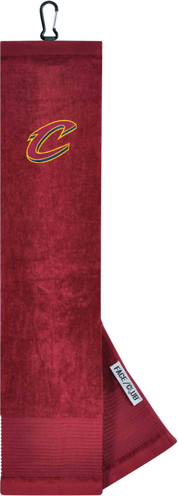 Team Effort Cleveland Cavaliers Embroidered Face/Club Tri-Fold Towel product image