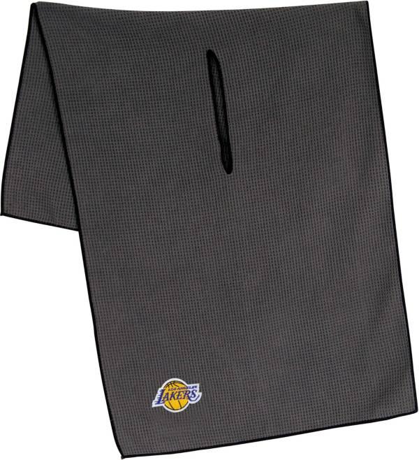 """Team Effort Los Angeles Lakers 19"""" x 41"""" Microfiber Golf Towel product image"""