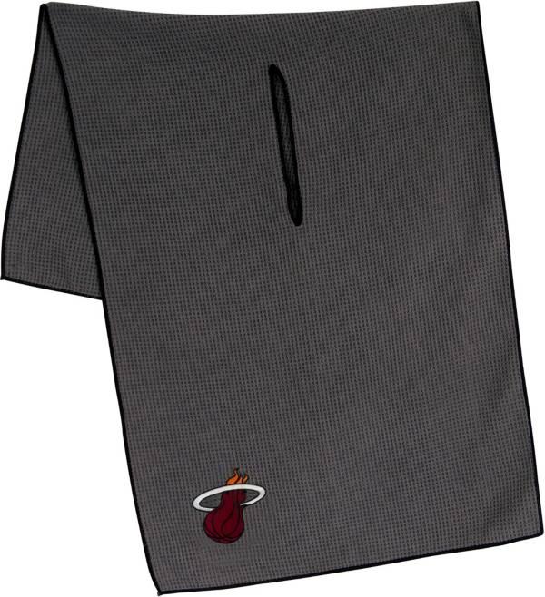 "Team Effort Miami Heat 16"" x 41"" Microfiber Golf Towel product image"