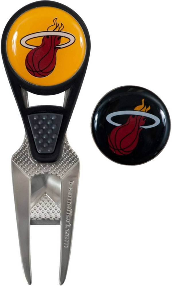Team Effort Miami Heat CVX Divot Tool and Ball Marker Set product image
