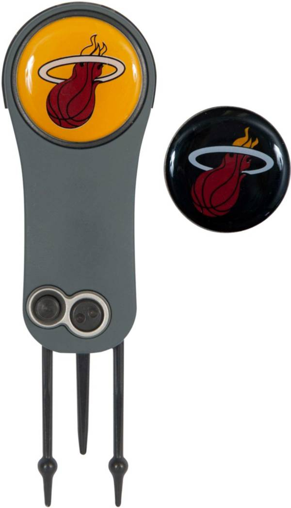 Team Effort Miami Heat Switchblade Divot Tool and Ball Marker Set product image