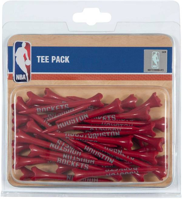 "Team Effort Houston Rockets 2.75"" Golf Tees - 40 Pack product image"
