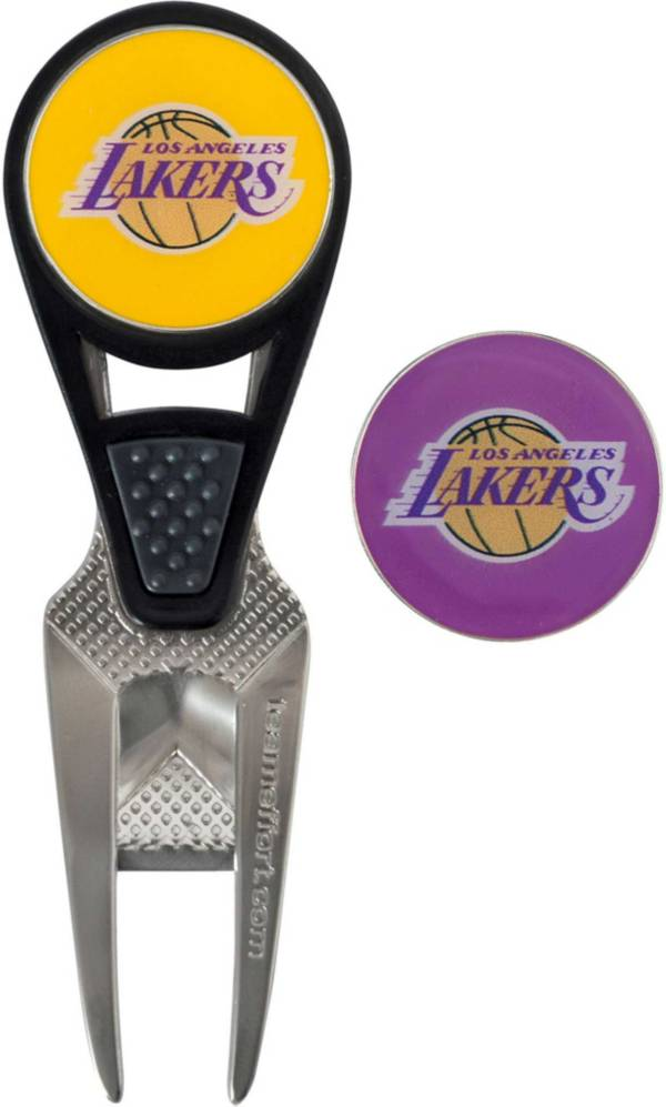 Team Effort Los Angeles Lakers CVX Divot Tool and Ball Marker Set product image