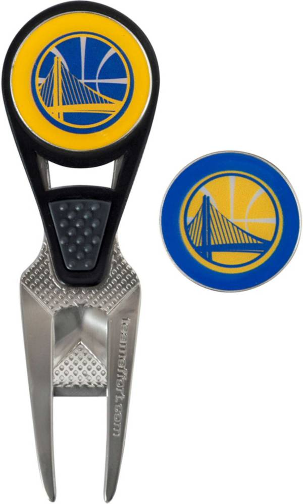 Team Effort Golden State Warriors CVX Divot Tool and Ball Marker Set product image
