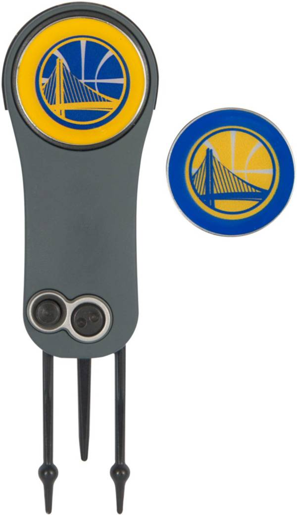 Team Effort Golden State Warriors Switchblade Divot Tool and Ball Marker Set product image