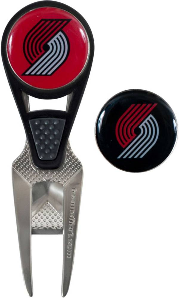 Team Effort Portland Trail Blazers CVX Divot Tool and Ball Marker Set product image