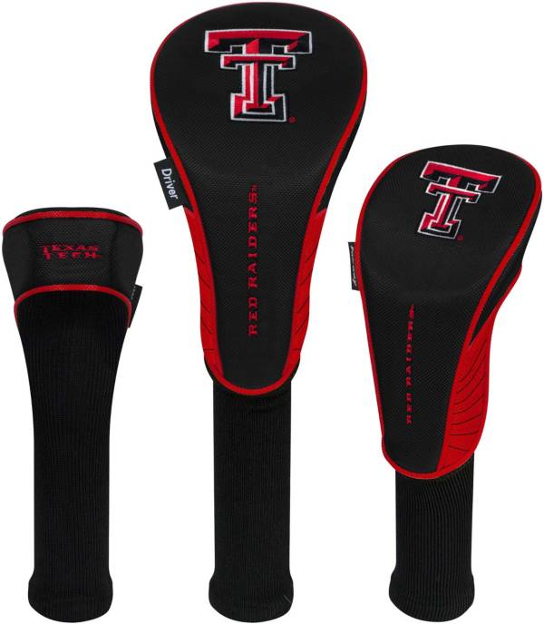 Team Effort Texas Tech Red Raiders Headcovers - 3 Pack product image
