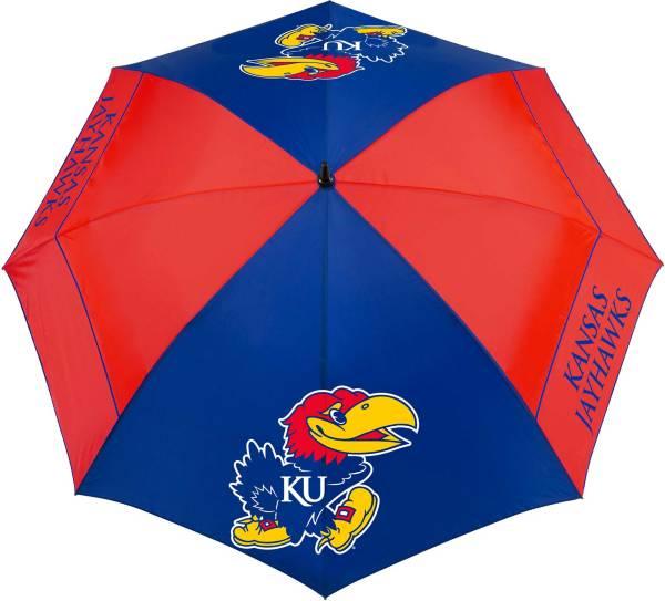 """Team Effort Kansas Jayhawks 62"""" Windsheer Lite Golf Umbrella product image"""