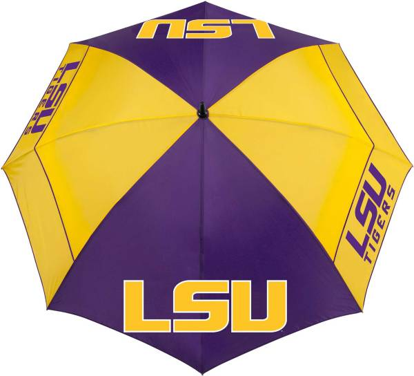 "Team Effort LSU Tigers 62"" Windsheer Lite Golf Umbrella product image"