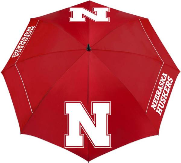 "Team Effort Nebraska Cornhuskers 62"" Windsheer Lite Golf Umbrella product image"