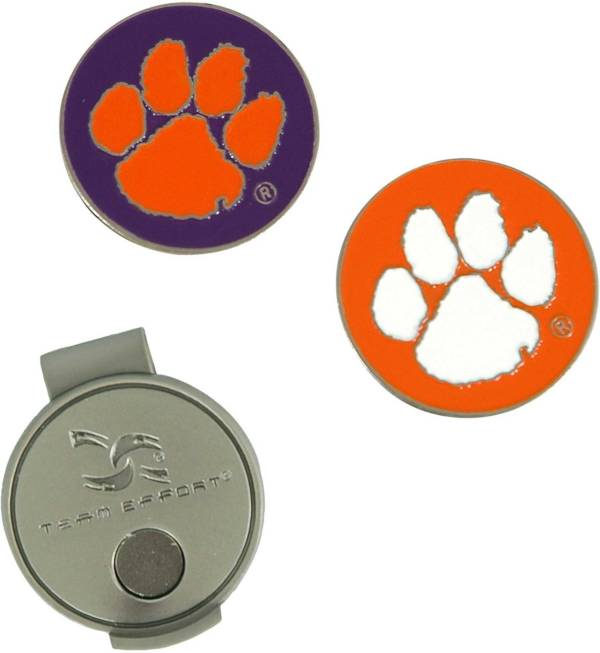 Team Effort Clemson Tigers Hat Clip and Ball Markers Set product image