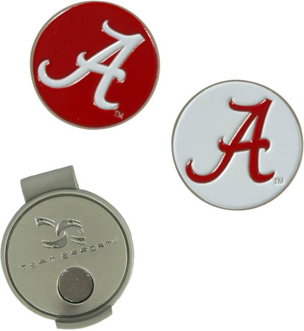 Team Effort Alabama Crimson Tide Hat Clip and Ball Markers Set product image