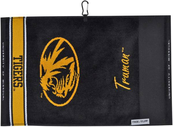 Team Effort Missouri Tigers Face/Club Jacquard Golf Towel product image