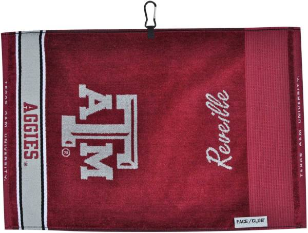 Team Effort Texas A&M Aggies Face/Club Jacquard Golf Towel product image