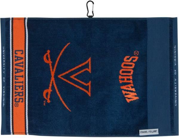 Team Effort Virginia Cavaliers Face/Club Jacquard Golf Towel product image