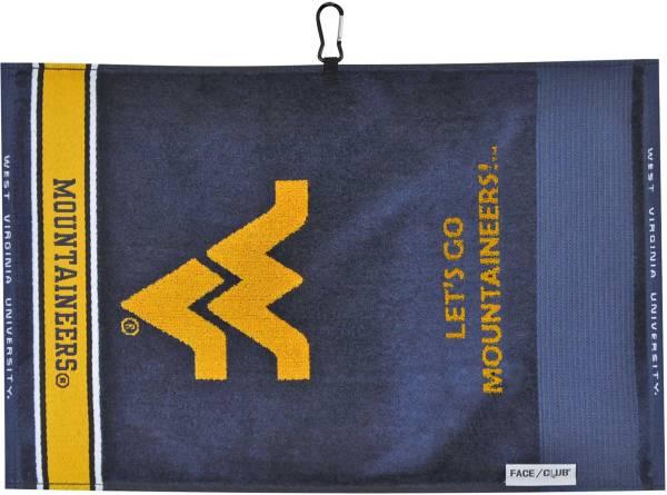 Team Effort West Virginia Mountaineers Face/Club Jacquard Golf Towel product image