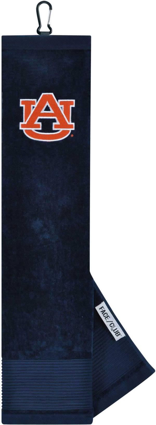 Team Effort Auburn Tigers Embroidered Face/Club Tri-Fold Towel product image
