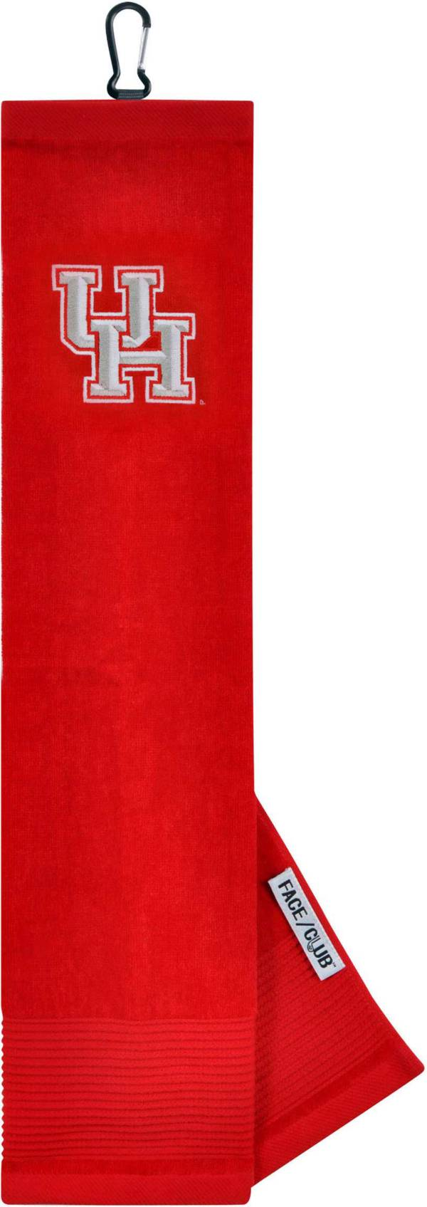 Team Effort Houston Cougars Embroidered Face/Club Tri-Fold Towel product image