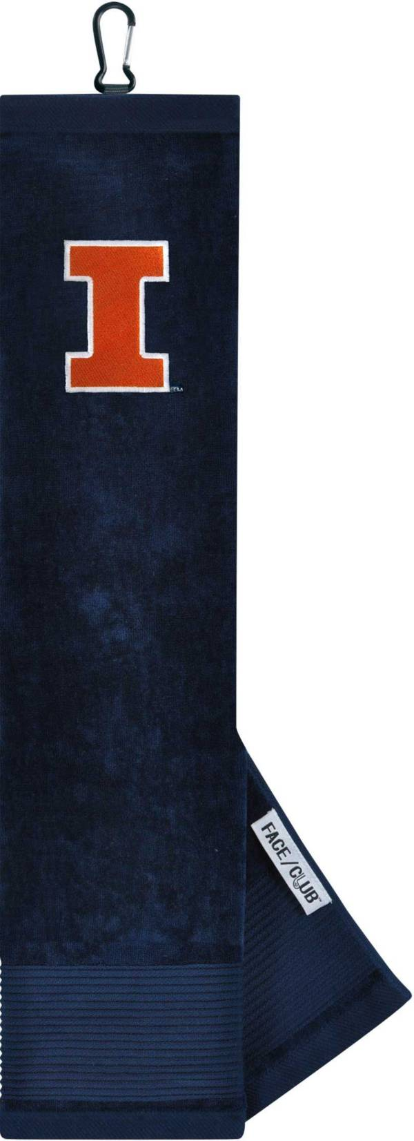 Team Effort Illinois Fighting Illini Embroidered Face/Club Tri-Fold Towel product image