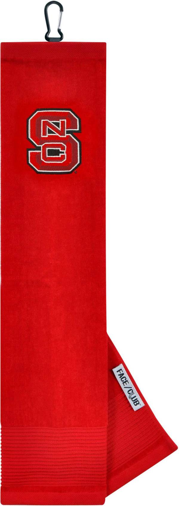 Team Effort NC State Wildcats Embroidered Face/Club Tri-Fold Towel product image