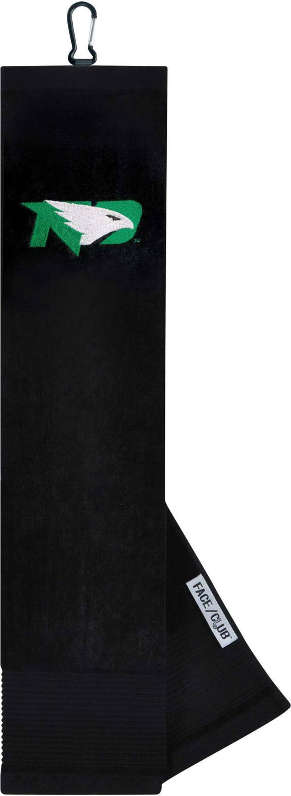Team Effort North Dakota Fighting Hawks Embroidered Face/Club Tri-Fold Towel product image