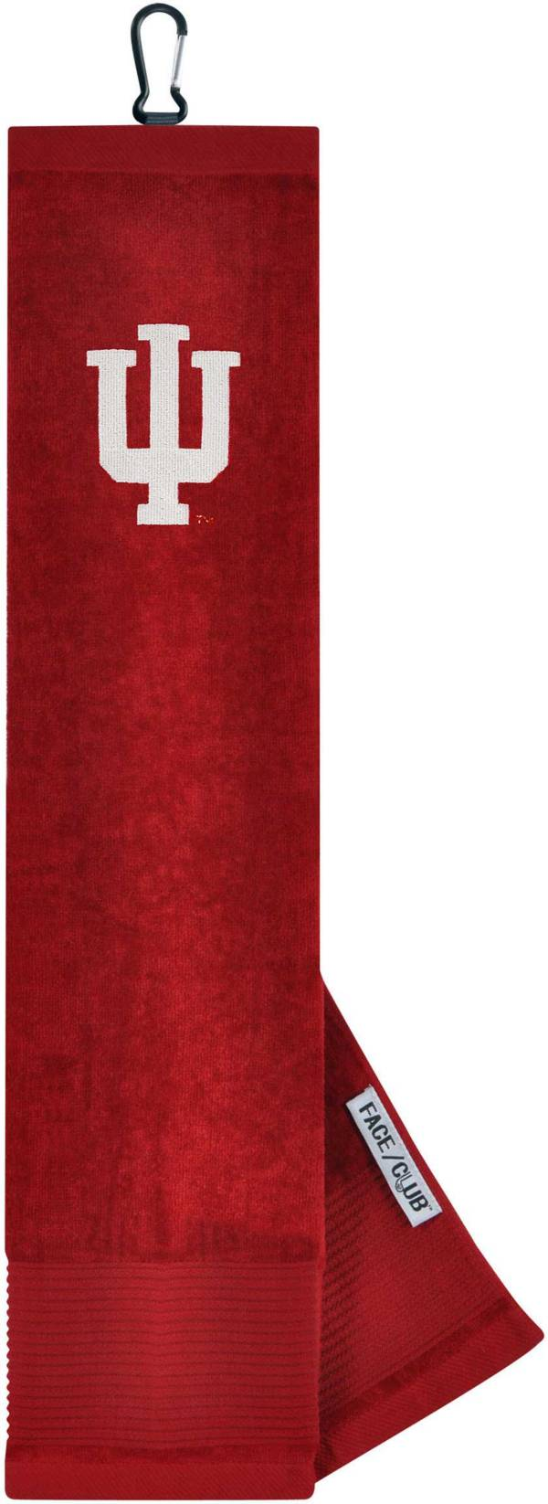Team Effort Indiana Hoosiers Embroidered Face/Club Tri-Fold Towel product image