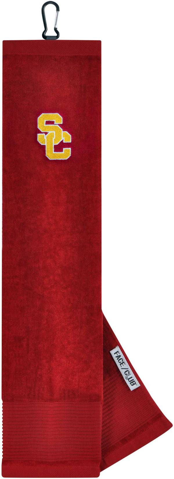 Team Effort USC Trojans Embroidered Face/Club Tri-Fold Towel product image