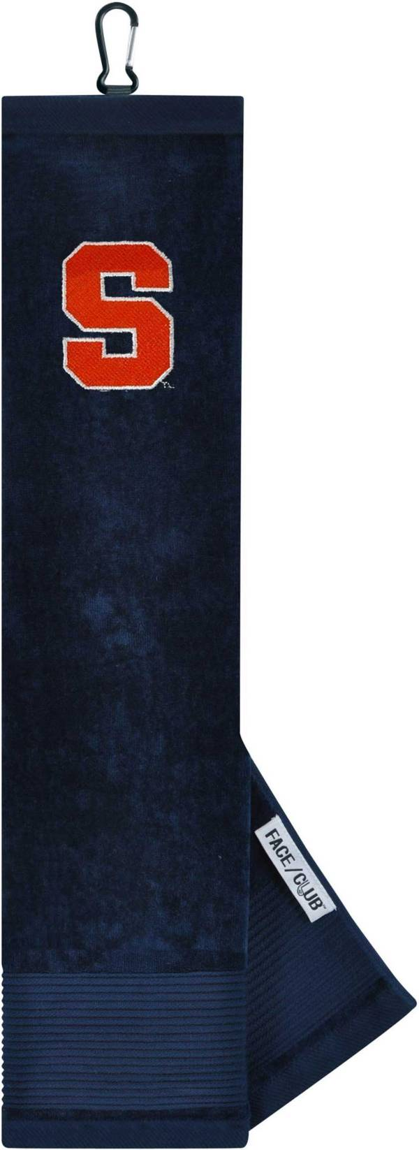 Team Effort Syracuse Orange Embroidered Face/Club Tri-Fold Towel product image