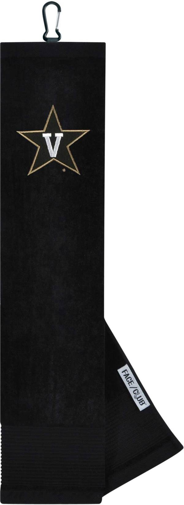 Team Effort Vanderbilt Commodores Embroidered Face/Club Tri-Fold Towel product image