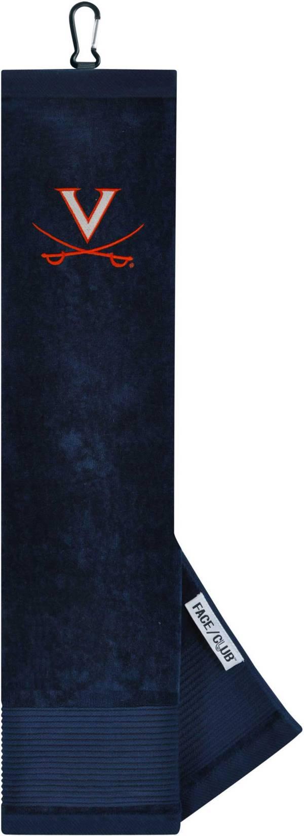 Team Effort Virginia Cavaliers Embroidered Face/Club Tri-Fold Towel product image