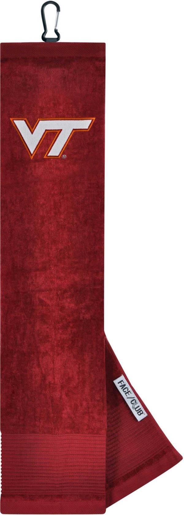 Team Effort Virginia Tech Hokies Embroidered Face/Club Tri-Fold Towel product image