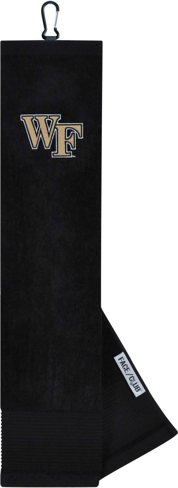 Team Effort Wake Forest Demon Deacons Embroidered Face/Club Tri-Fold Towel product image
