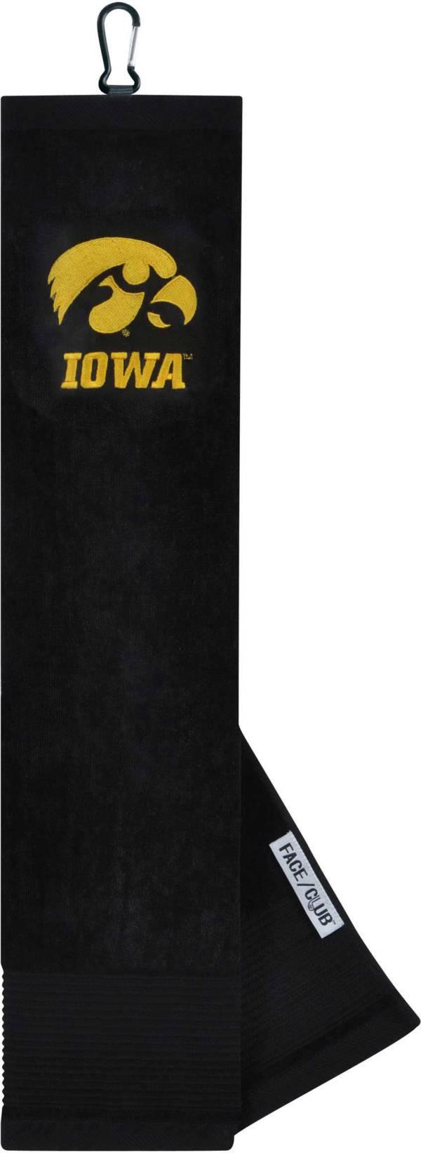 Team Effort Iowa Hawkeyes Embroidered Face/Club Tri-Fold Towel product image