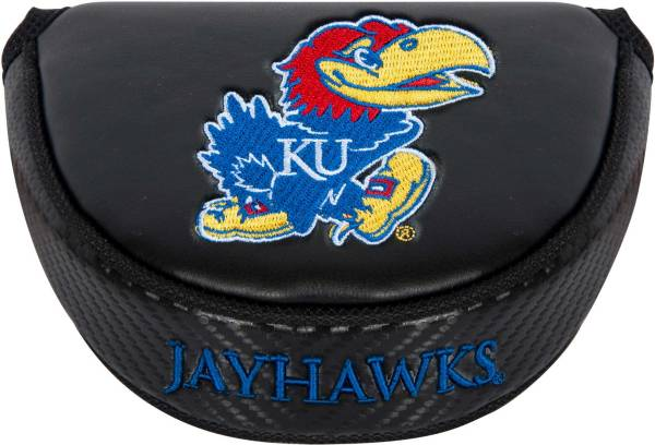 Team Effort Kansas Jayhawks Mallet Putter Headcover product image