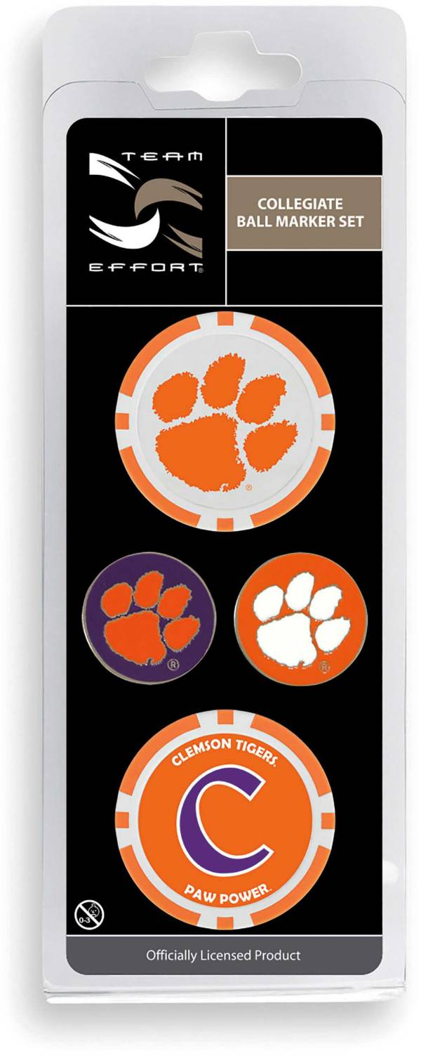 Team Effort Clemson Tigers Ball Marker Set product image